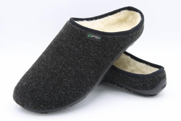 Pantoffel Art. 32100 aus Wollstoff